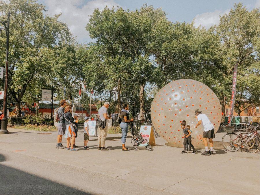 hamster ball - les gars des jeux - location de jeux géants montréal québec